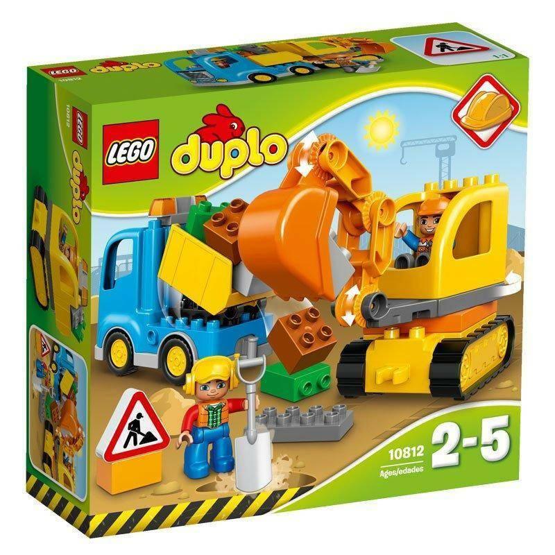 lego lego camion e escxavatrice cingolata