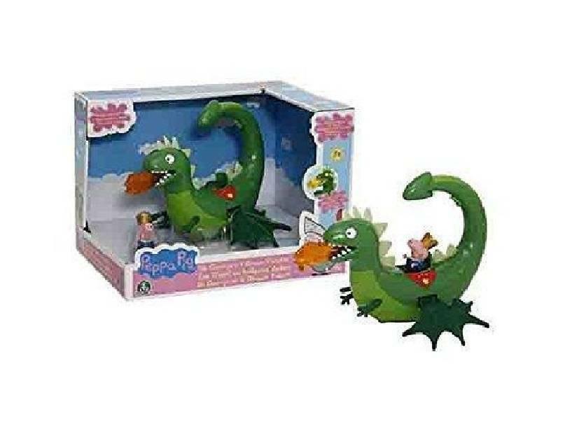 giochi preziosi giochi preziosi peppa pig sir george e il drago con suoni