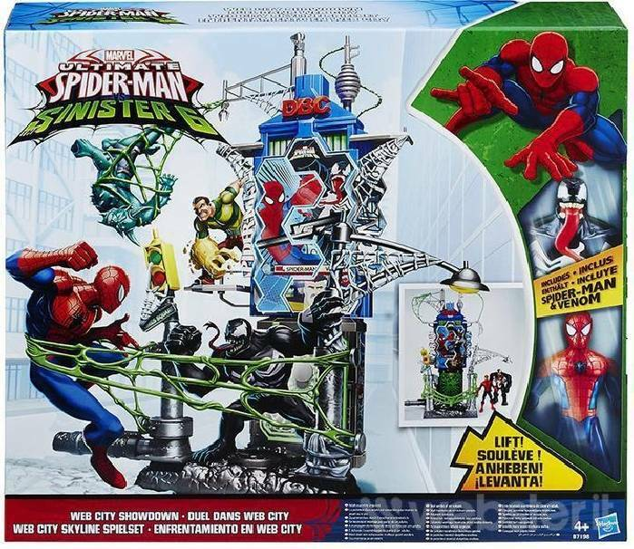 hasbro - mb hasbro - mb spiderman  web city showdown