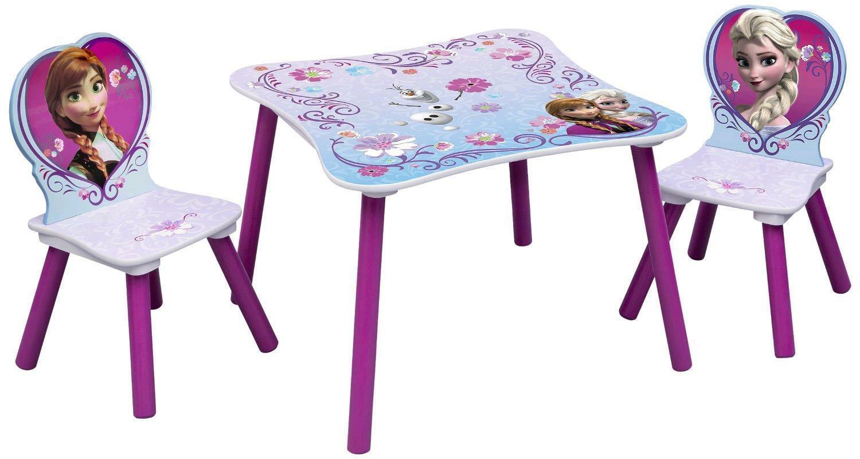 giocheria giocheria frozen tavolo e 2 sedie legno