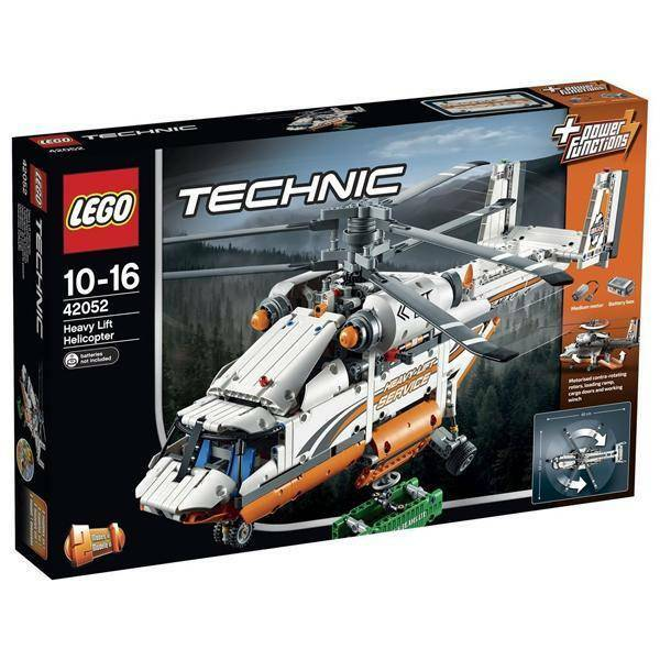 lego elicottero da carico lego 42052