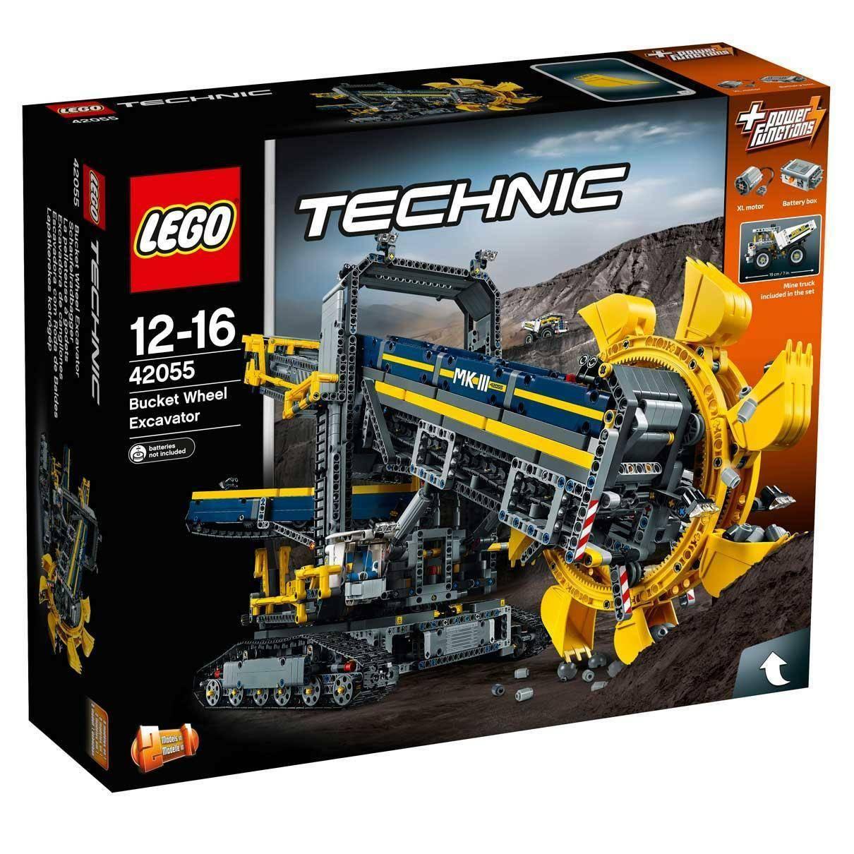 lego escavatore da miniera lego technic 42055