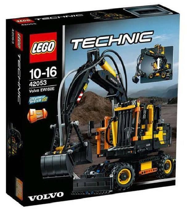 lego volvo ew 160e lego technic 42053