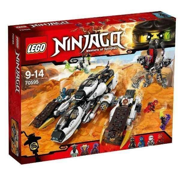 lego ninjago raider ultrasonico lego 70595