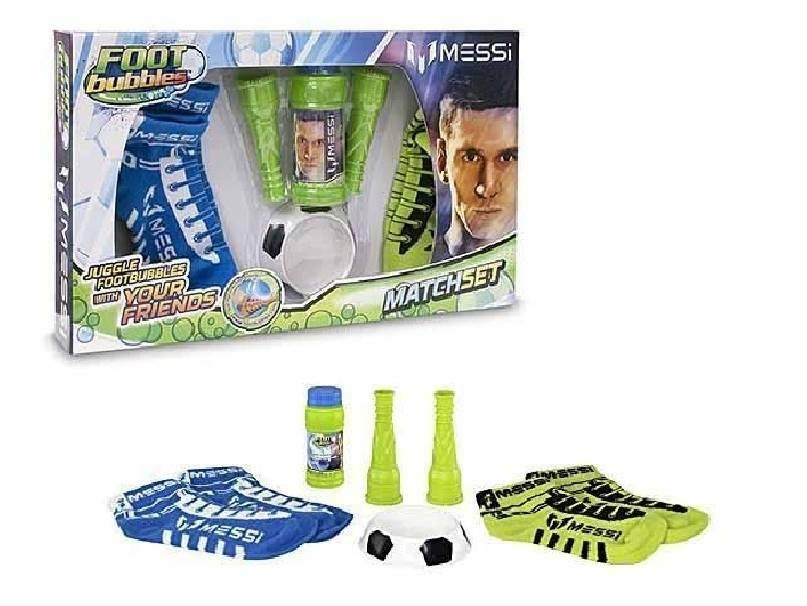 giochi preziosi giochi preziosi messi foot bubbles match set