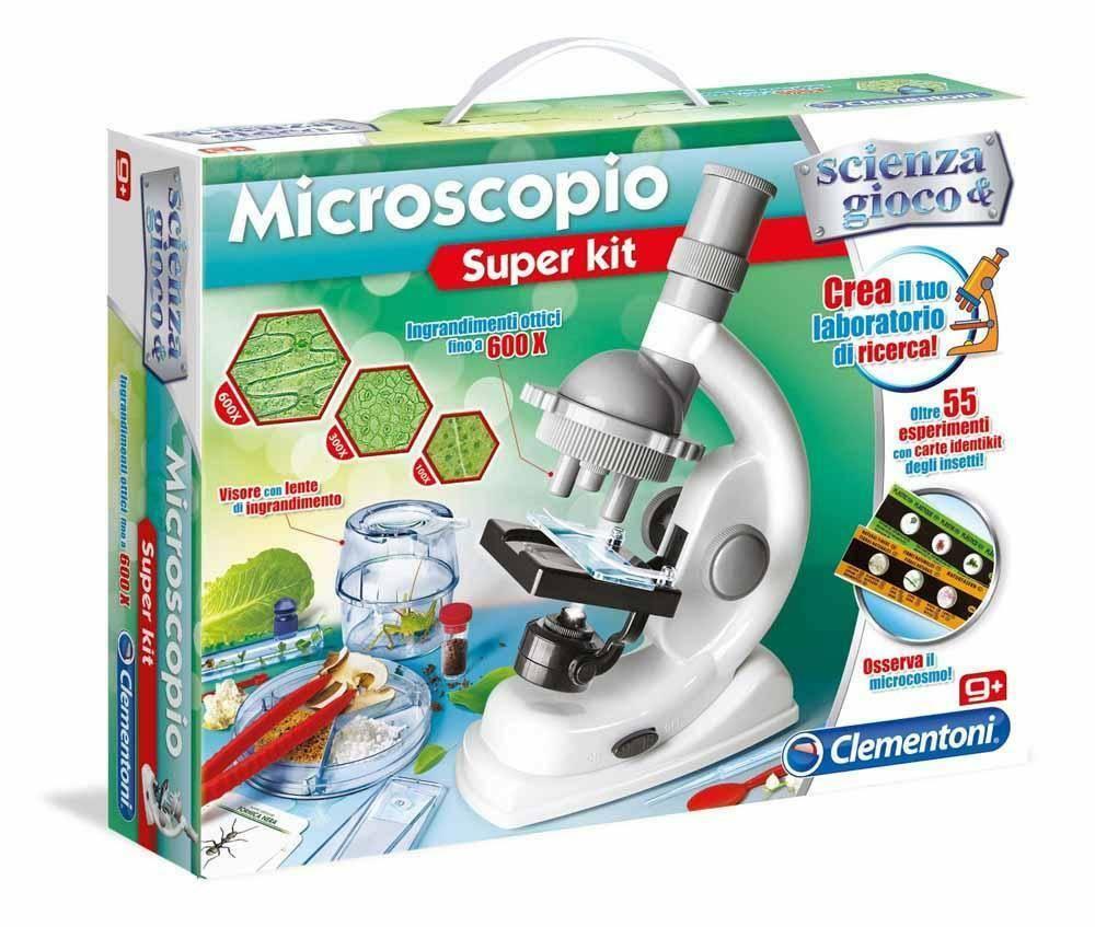 clementoni clementoni microscopio scientifico super kit
