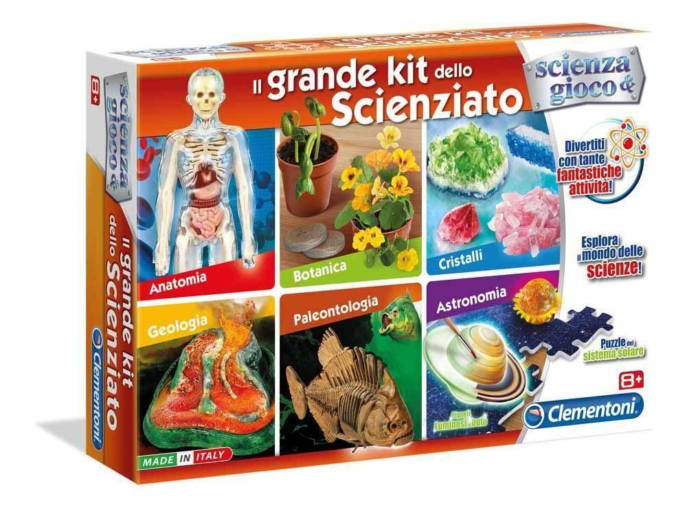 clementoni clementoni il grande kit dello scienziato