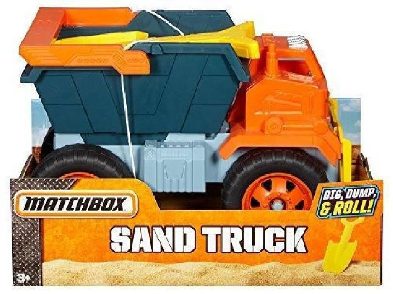 mattel mattel camion per sabbia sand truck