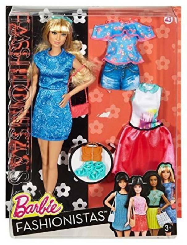 mattel mattel barbie fashionista e moda chic