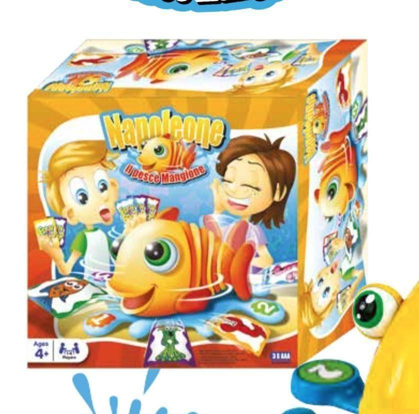 giochi preziosi giochi preziosi fish food game napoleone il pesce mangione