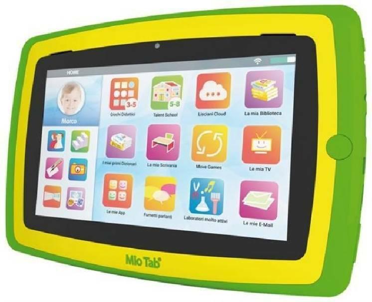lisciani giochi lisciani giochi mio tab smart kid plus hd