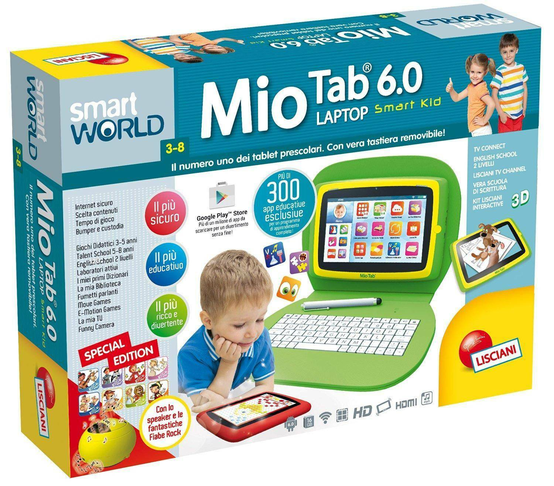 lisciani giochi lisciani giochi computer mio tab 6.0 special edition