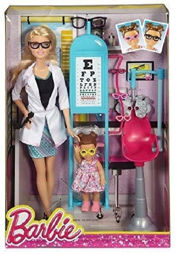 mattel mattel barbie oculista