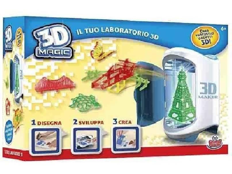 grandi giochi grandi giochi laboratorio 3d magic 3d maker