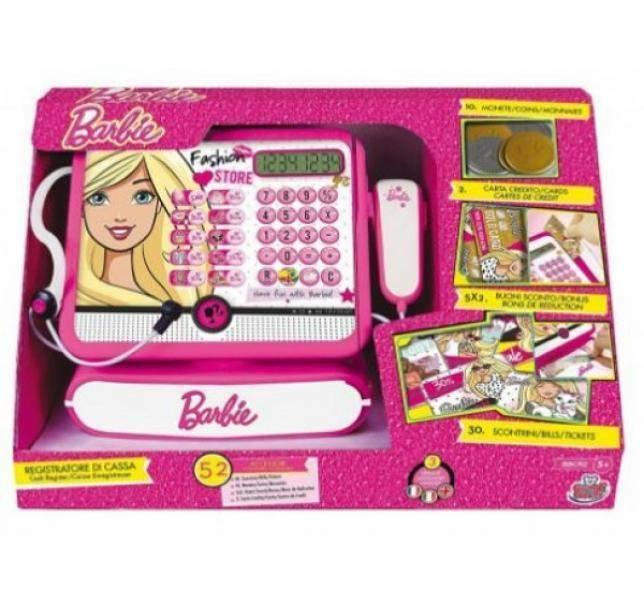 grandi giochi startrade registratore di cassa barbie