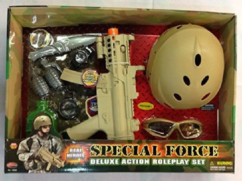 giochi preziosi giochi preziosi special force mitraglietta, casco accessori