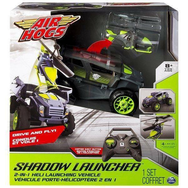 spinmaster spinmaster shadow launcher veicolo radiocomando air hogs