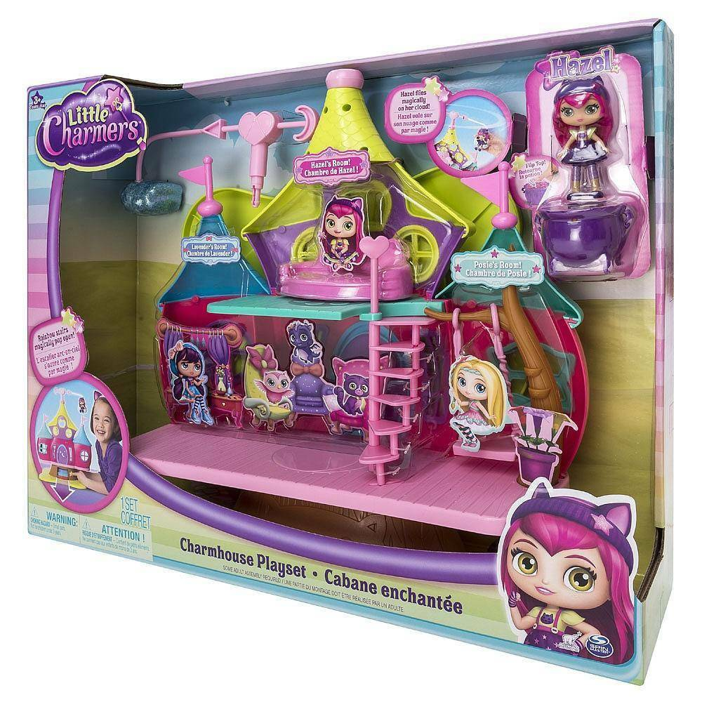 spinmaster spinmaster charmhouse playset  little charmes