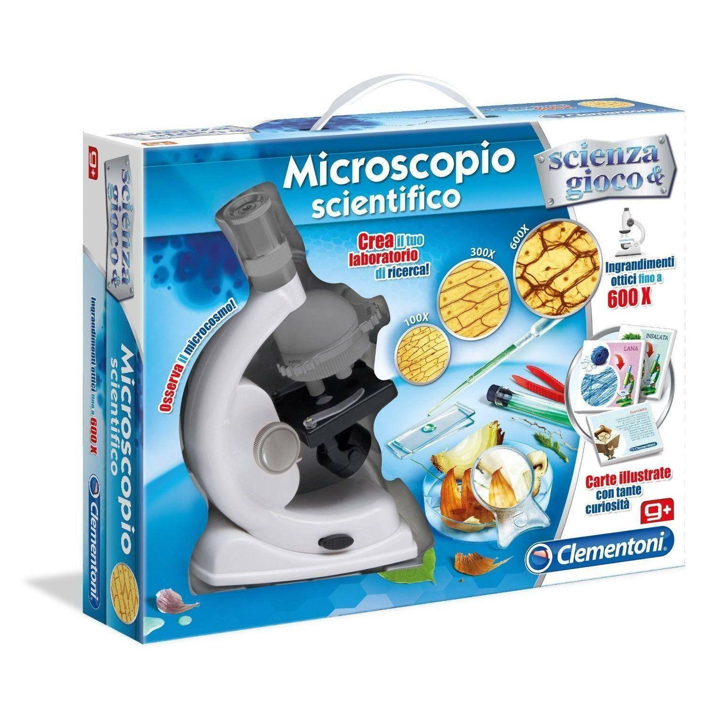 clementoni clementoni microscopio scientifico