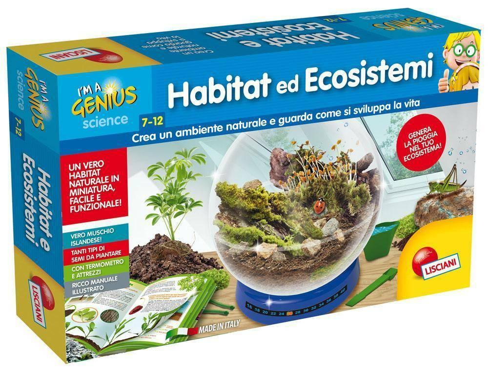 lisciani giochi lisciani giochi piccolo genio habitat ed ecosistemi