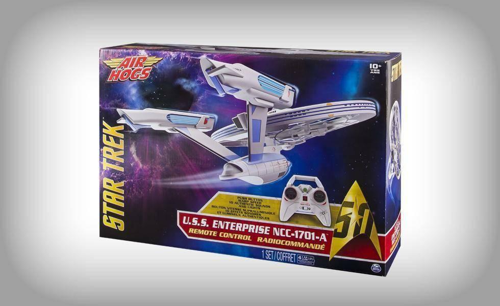 spinmaster spinmaster drone star trek enterprise radiocomandato