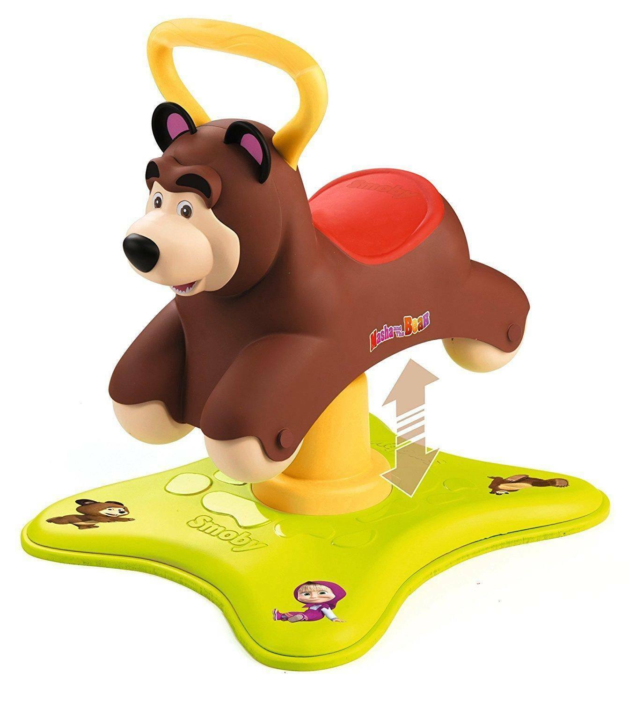 simba simba dondolo cavalcabile masha orso 2 in 1