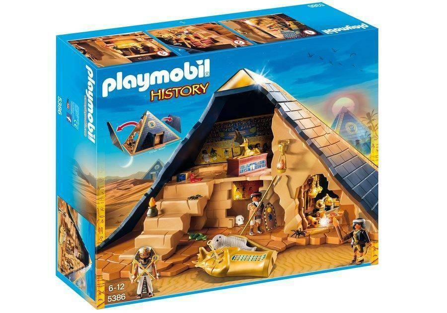 playmobil playmobil grande piramide del faraone