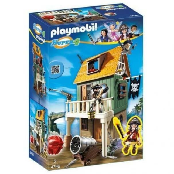 playmobil playmobil forte dei pirati