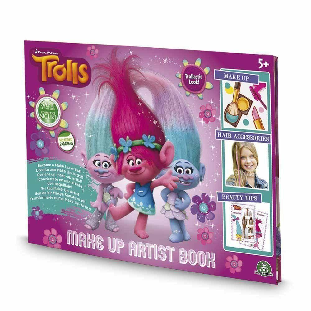 giochi preziosi giochi preziosi trolls trucchi make up artist book