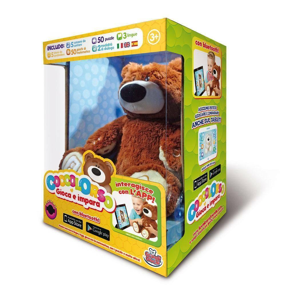 startrade startrade coccolorso peluche orso interattivo