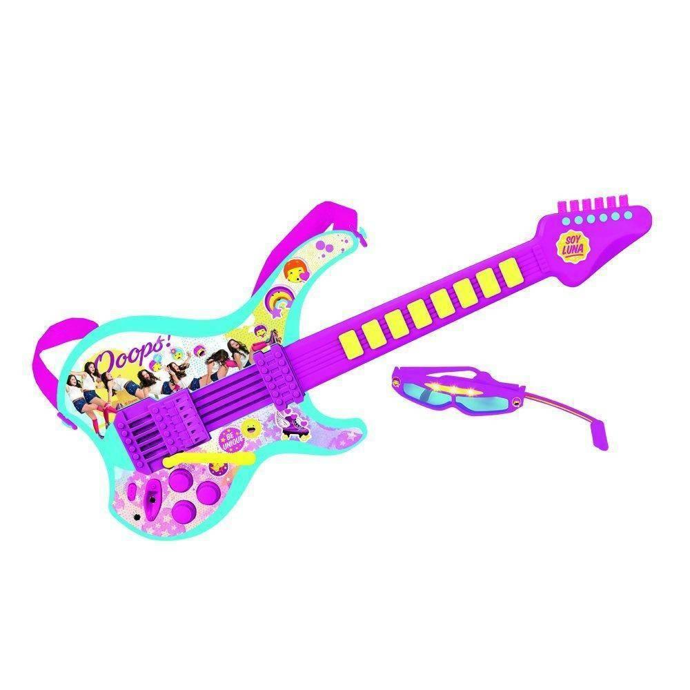 startrade startrade chitarra elettrica con occhiali soy luna