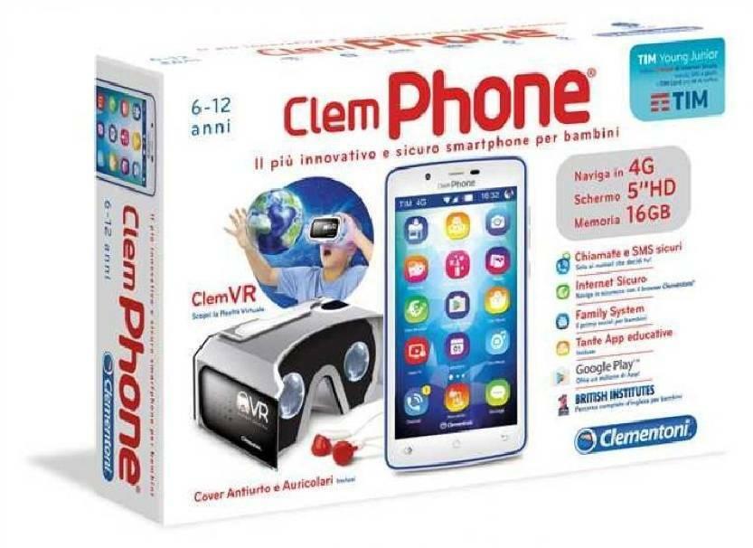 clementoni clementoni clemphone 6.0 con realta' virtuale