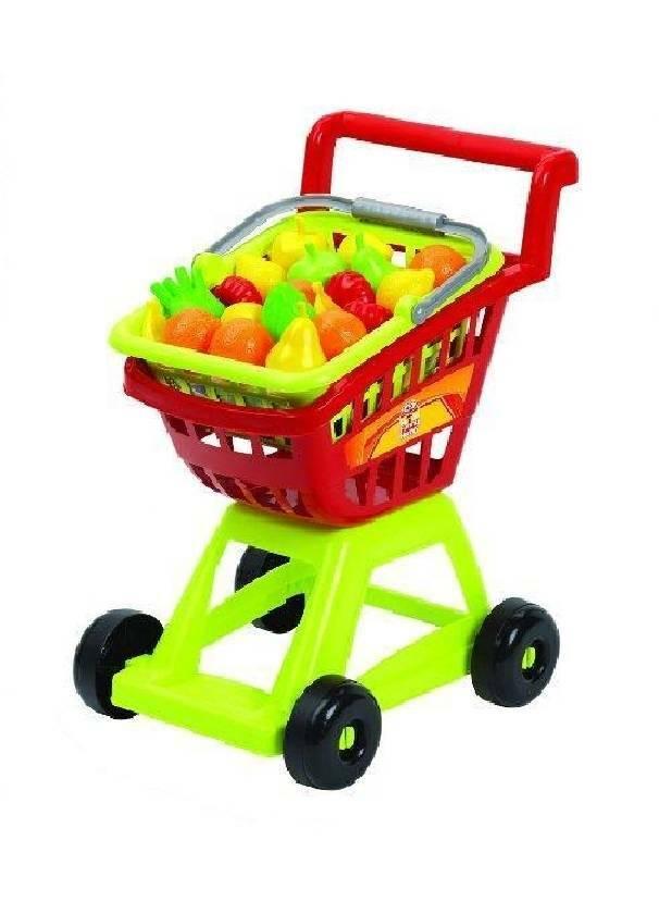 giocheria giocheria carrello spesa con frutta