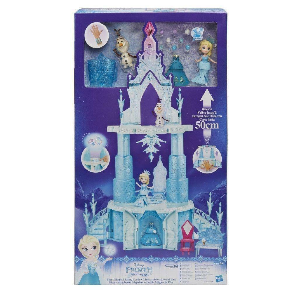 hasbro - mb hasbro - mb frozen magical rising castello di elsa