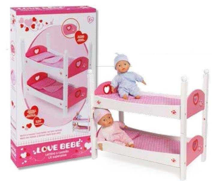 giocheria giocheria love bebe letto castello legno