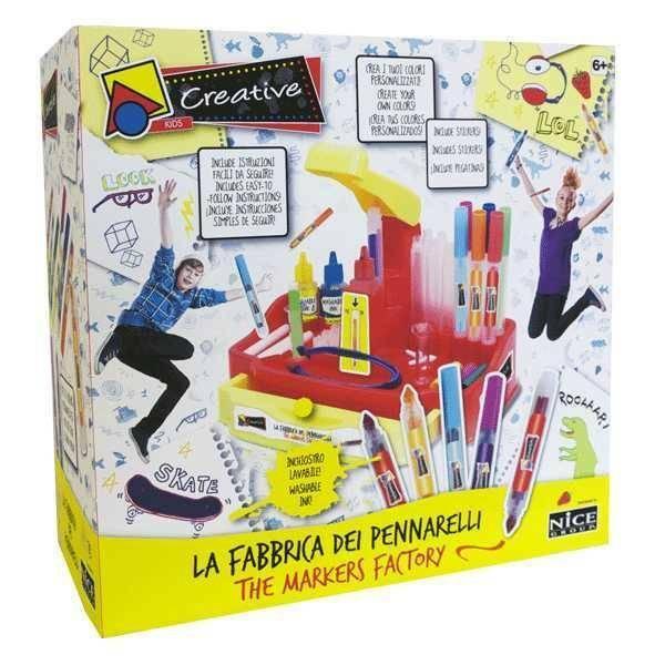 nice nice fabbrica dei pennarelli creative kids