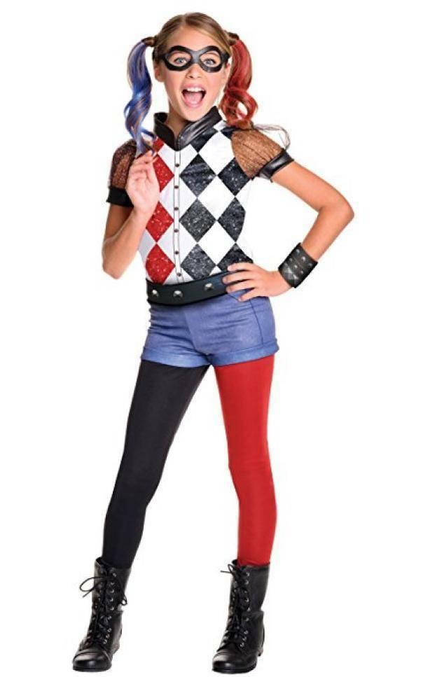 rubies rubies costume harley quinn dc superhero girls tg s