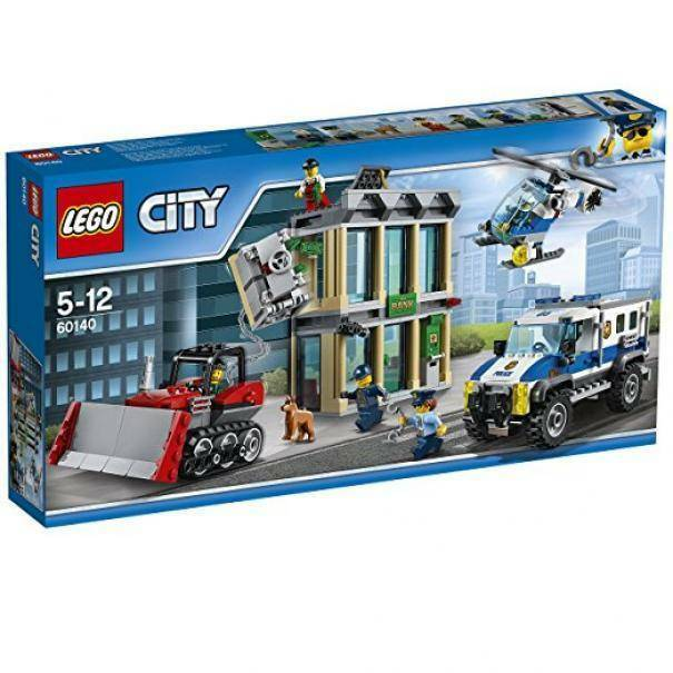 lego lego rapina con il bulldozer