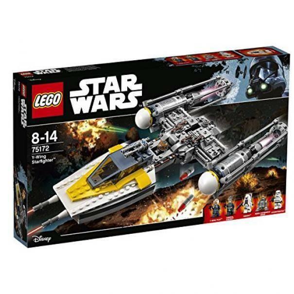 lego lego y-wing starfighter star wars 75172