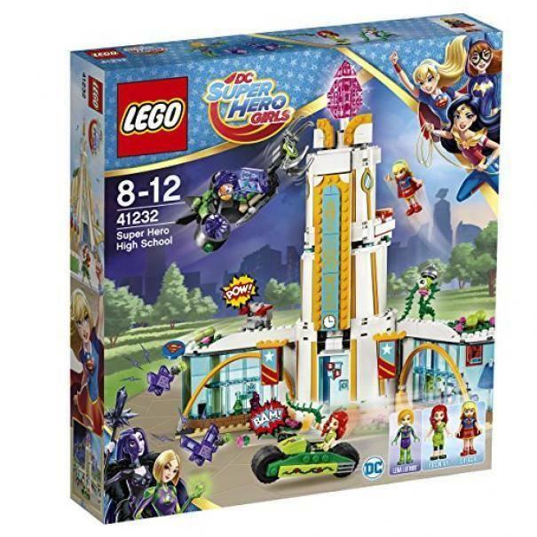 lego il liceo dei super eroi lego 41232