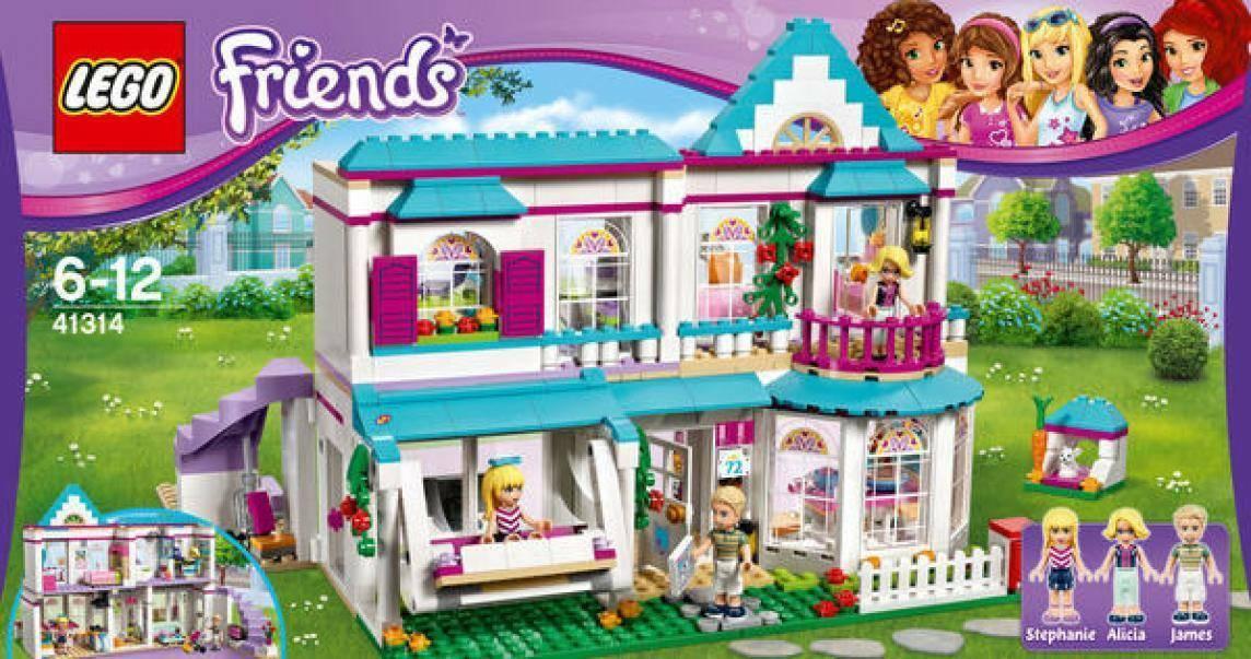 lego la casa di stephanie lego friends 41314