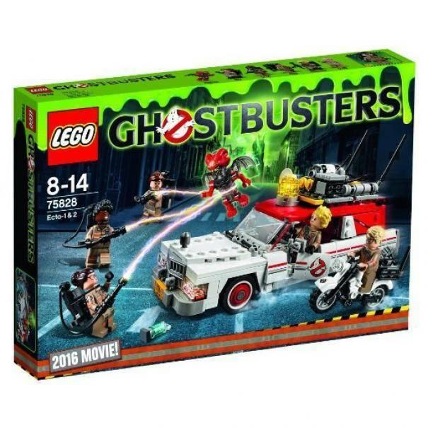 lego ghostbusters ecto 1 & 2 lego 75828