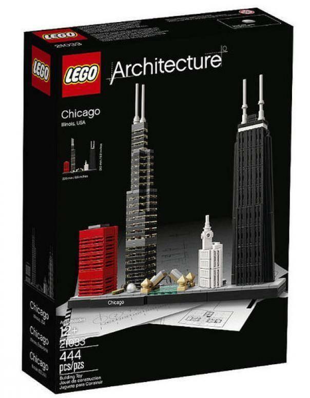 lego chicago lego architecture 21033