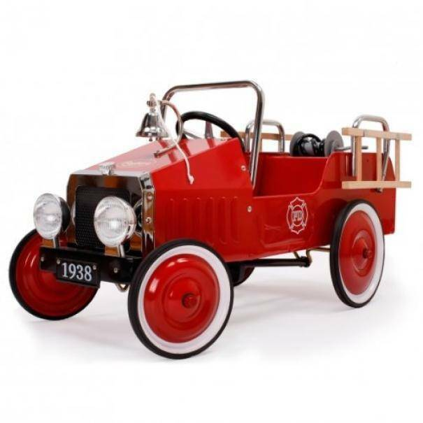 baghera baghera macchina a pedali camion dei pompieri