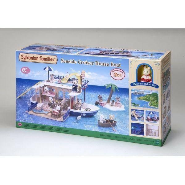 sylvanian families sylvanian families casetta galleggiante seaside cruiser