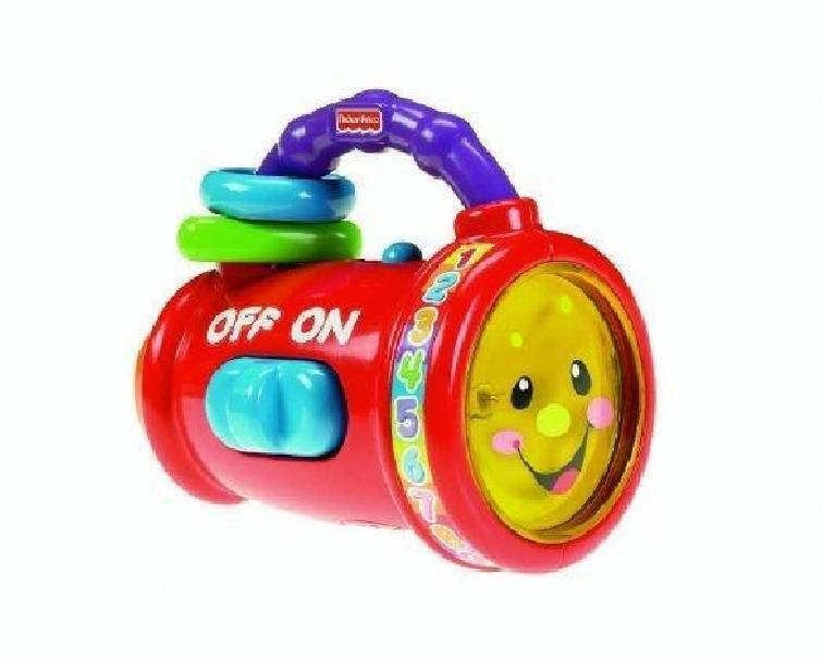 fisher-price fisher-price torcia luminosa