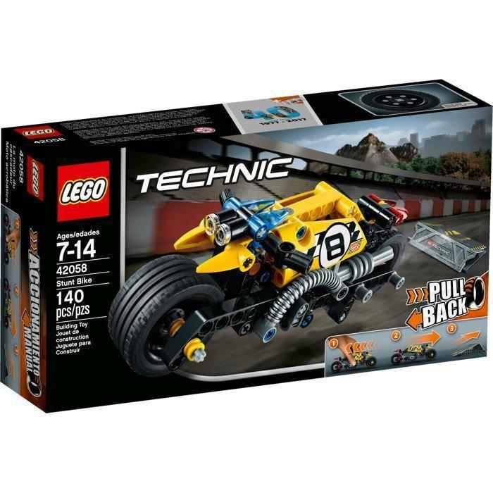 lego stunt bike lego technic 42058
