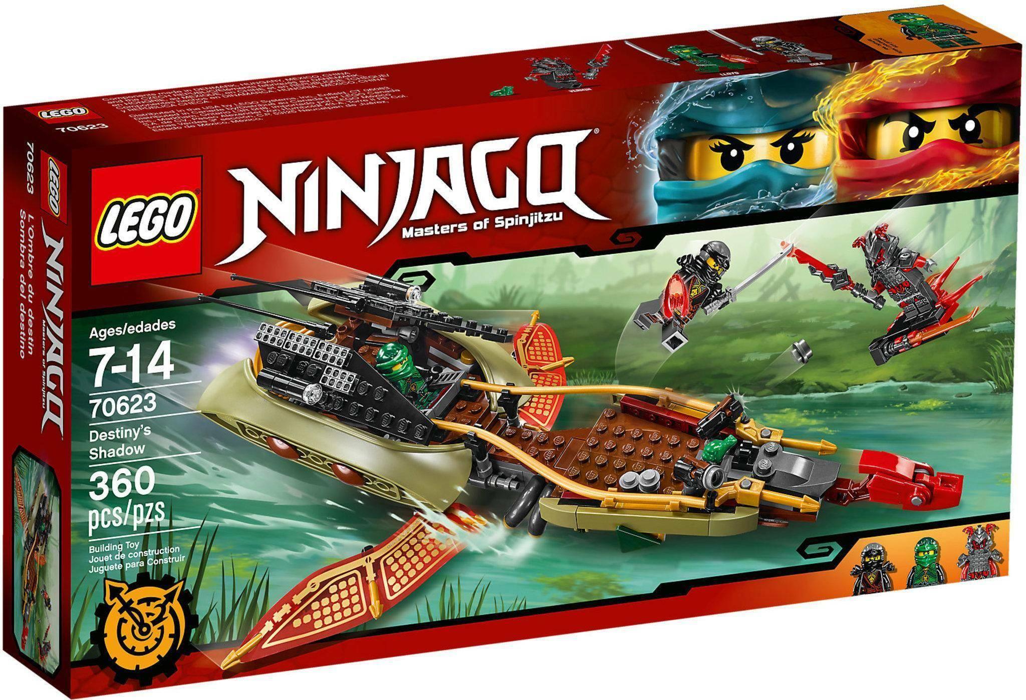 lego ombra del destino lego ninjago 70623