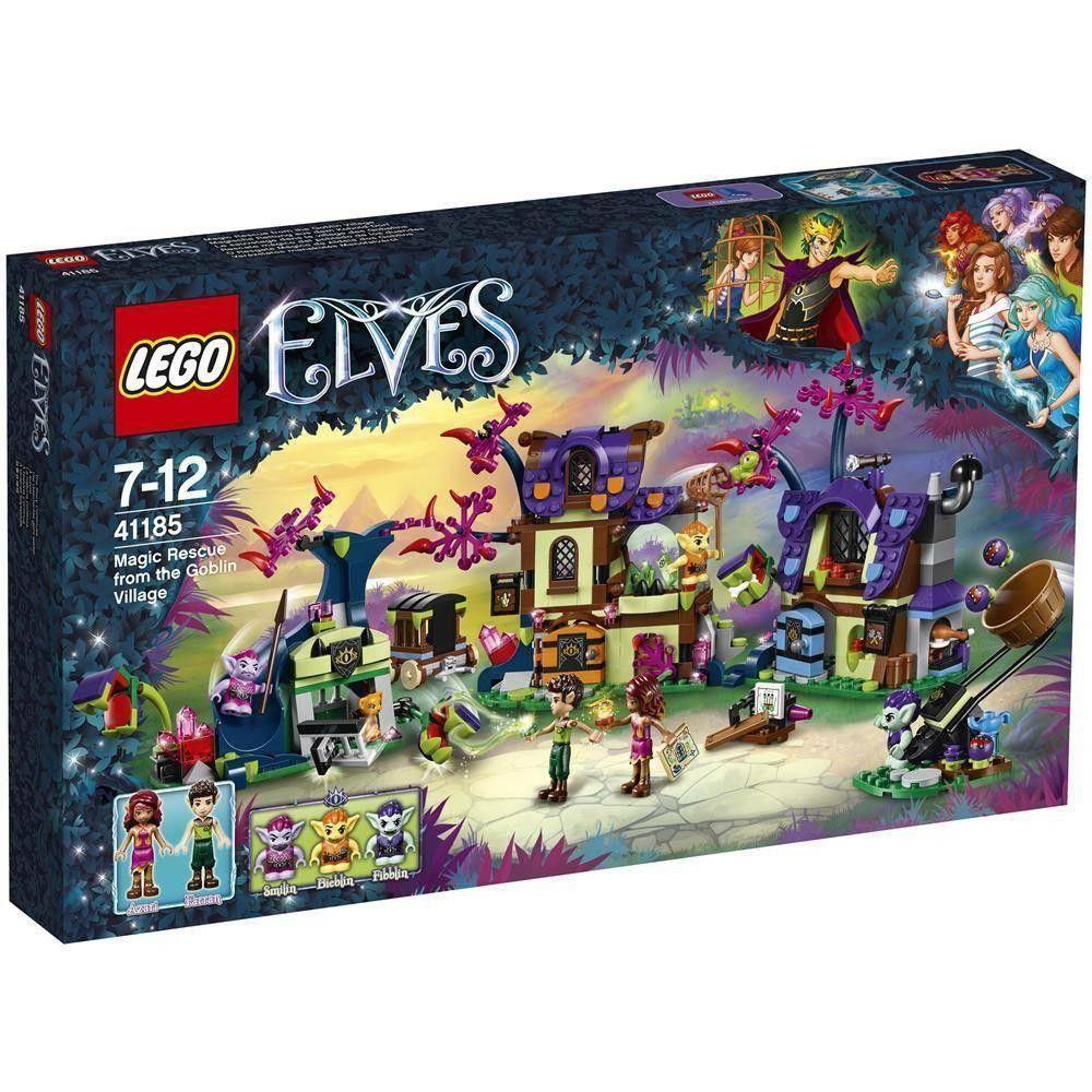 lego lego salvataggio magico dal villaggio dei goblin