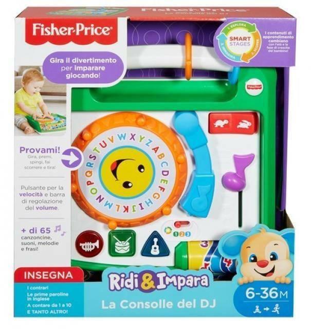 fisher price fisher price la consolle del dj
